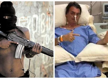 Bandido com fuzil não representa ameaça. Perigoso é fazer arminha com a mão