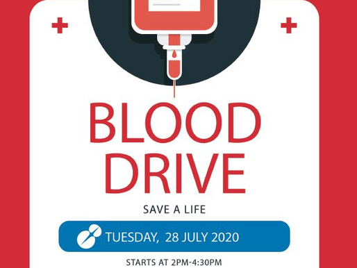 Mid Year Blood Drive - 28 July 2020