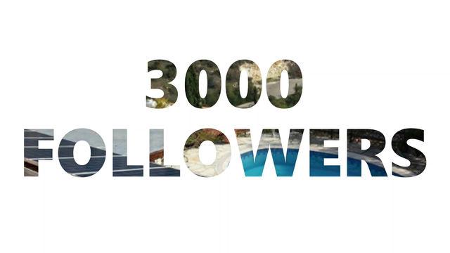 3000 Facebook Followers