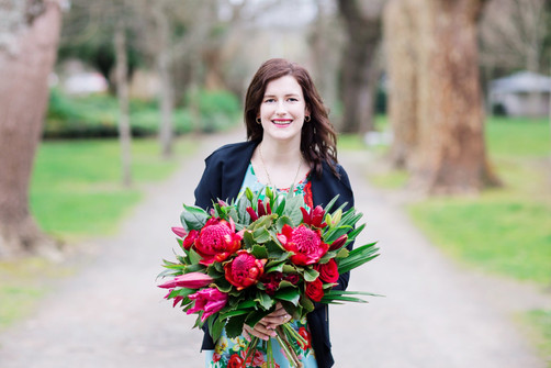Alex from Forget Me Not Flowers Palmerston North  Makeup by Kate Photography by Toni Larsen