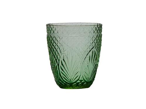 Vintage Green Tumbler set of 4