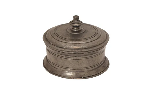Pewter Round Box
