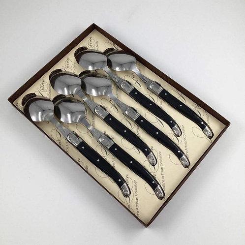 Laguiole Black Spoons