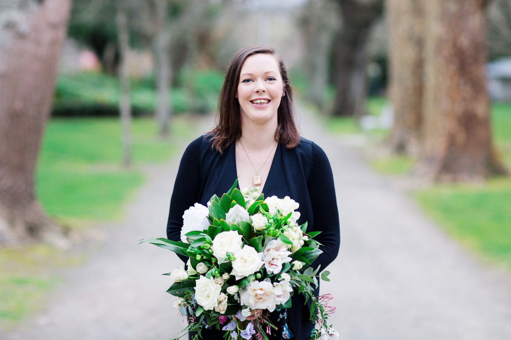 Tara from Forget Me Not Flowers Palmerston North  Makeup by Kate Photography by Toni Larsen