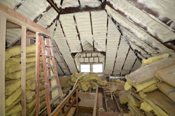 Spray Foam Attic