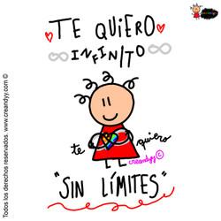 te quiero infinito