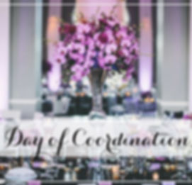 day-of coordiantion - Weddings with Dana