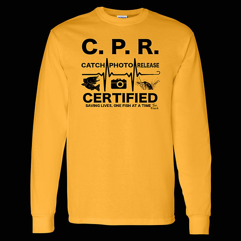 CPR CERTIFIED LONG SLEEVE COTTON