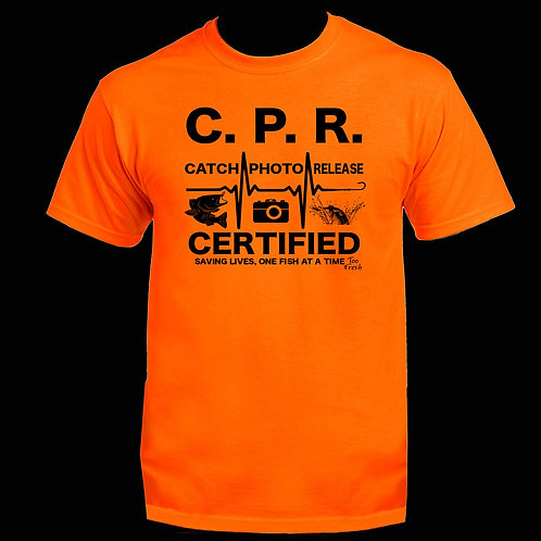 CPR CERTIFIED CLASSIC TEE