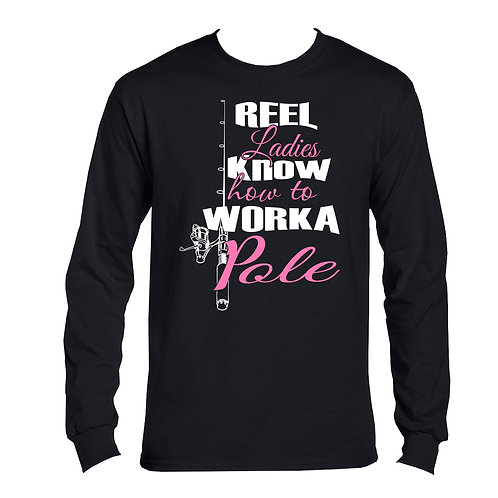 REEL LADIES / WORKA POLE LONG SLEEVE COTTON