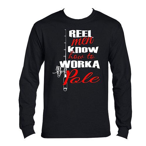 REEL MEN / WORKA POLE LONG SLEEVE COTTON