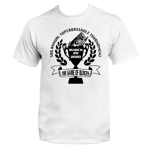 Super Bassholes 2020 Tournament Support Shirt