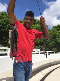 Terrence Jr Too Fresh Fishing