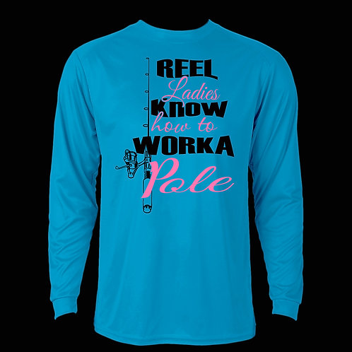 REEL LADIES KNOW HOW TO WORK A POLE LONG SLEEVE PERFORMANCE