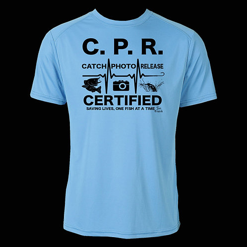 CPR CERTIFIED PERFORMANCE TEE