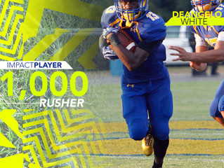 1,000 yard RUSH CLUB!