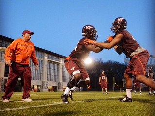 Hill, McClease back on the field at Va TECH!