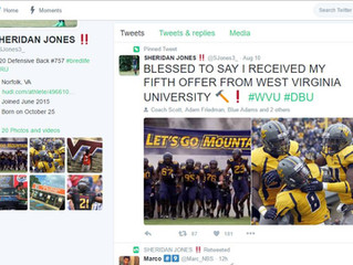 Jones adds his 5th offer!