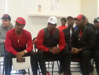 Signing Day! Davis, Palmer, Cuffee and Wilkins headed to play ball!