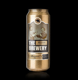 Beer Can Gold Label