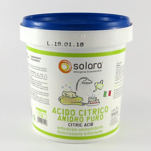 ACID CITRIC PRAF 750 GR, SOLARA