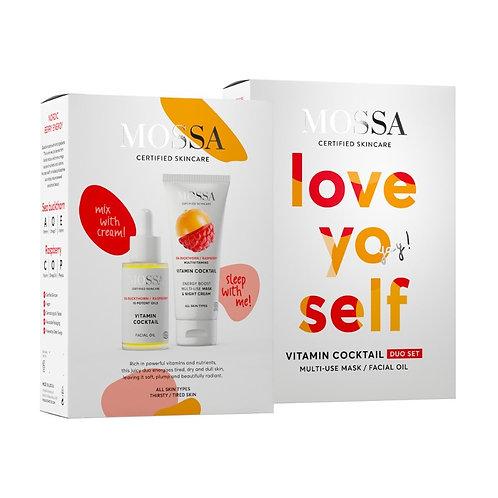 "VITAMIN COCKTAIL Duo Set ""LOVE YO SELF"", MOSSA"