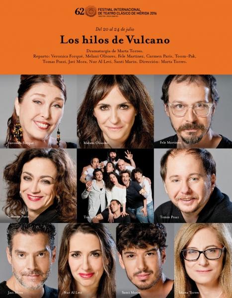Cartel Los hilos de Vulcano