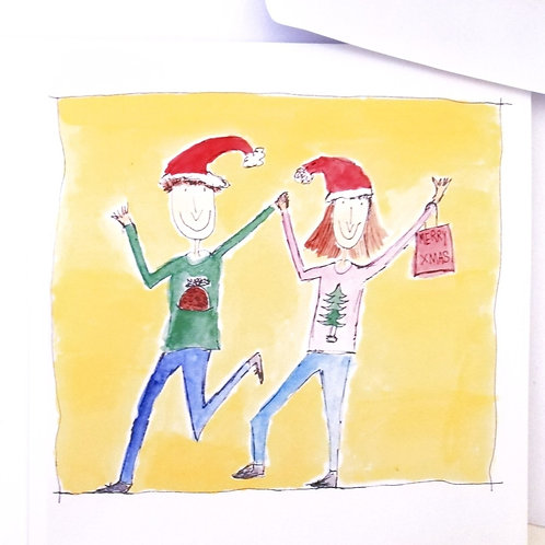 Mixed pack of 6 Christmas cards