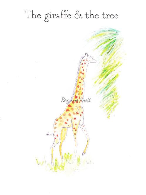 The giraffe & the tree