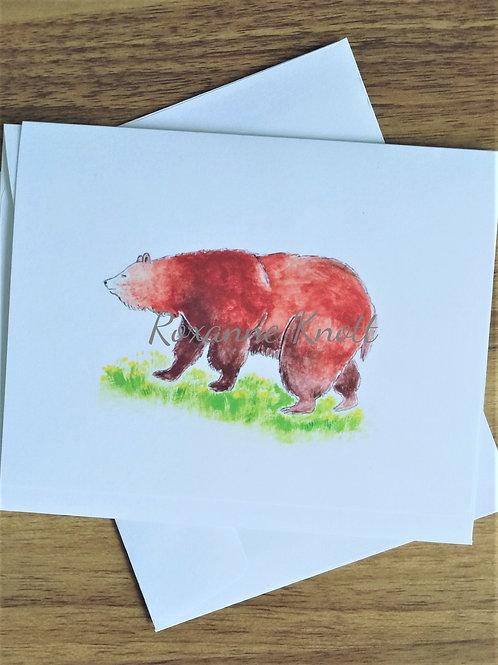 Mumma bear - Greeting card (blank inside)