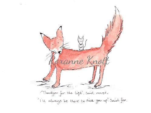 Fox & Mouse - 1