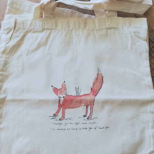 Fox & Mouse - Tote bag