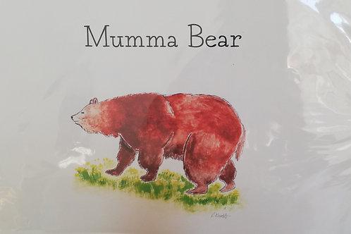 Mumma Bear - A3 print
