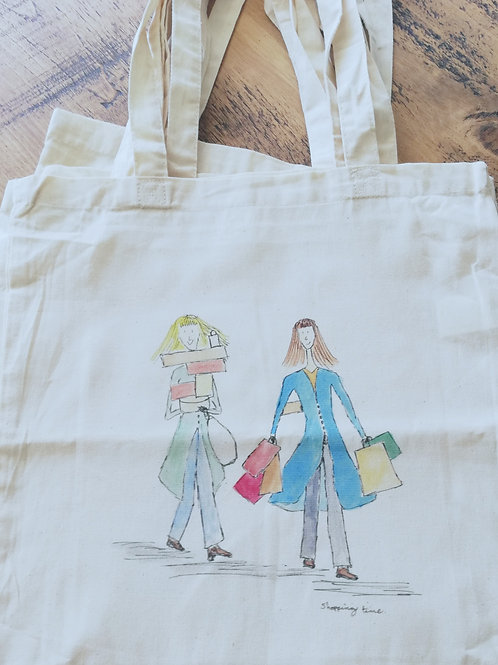 Shopping time - Tote Bag