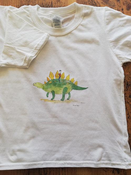 Dino Taxi  - Kids T-shirt