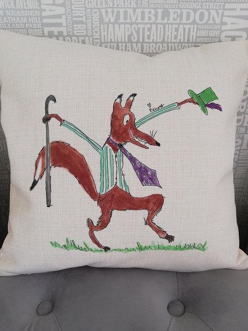 Mr Fox - cushion