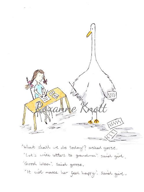 Girl & Goose - 2