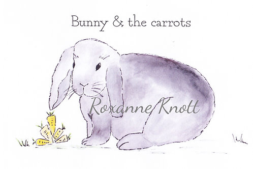 Bunny & the carrots