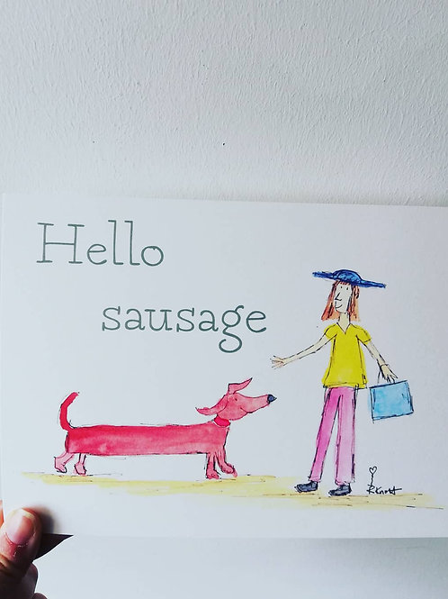 Hello sausage