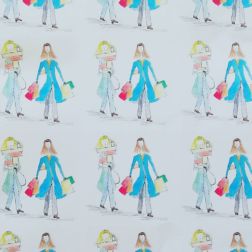 Shopping time - Wrapping paper