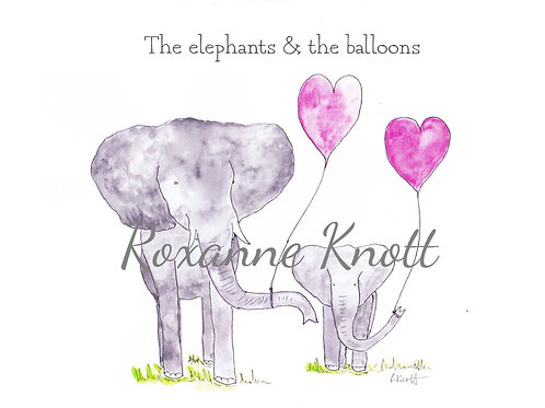 The elephants & the balloons
