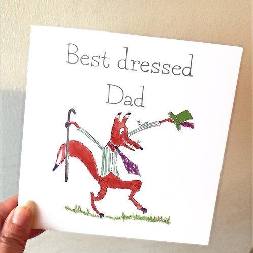 Best dressed Dad