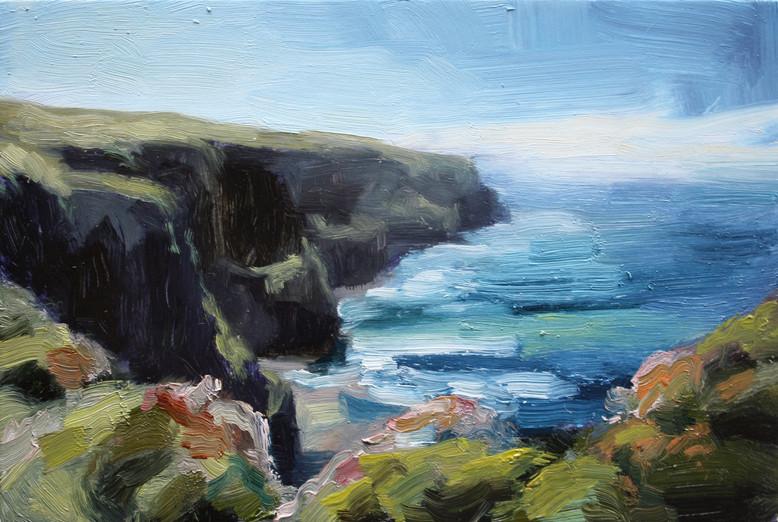 Cliffs Near Doolin