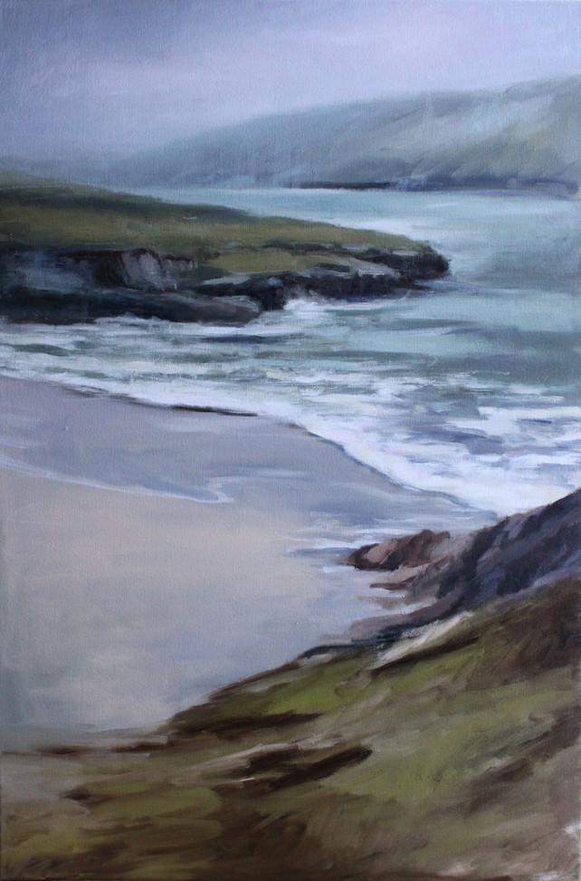 Hidden Beach at Roundstone
