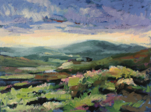Connemara at Sunset
