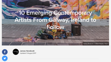 Culture Trip - 10 Emerging Contemporary Artists From Galway, Ireland to Follow