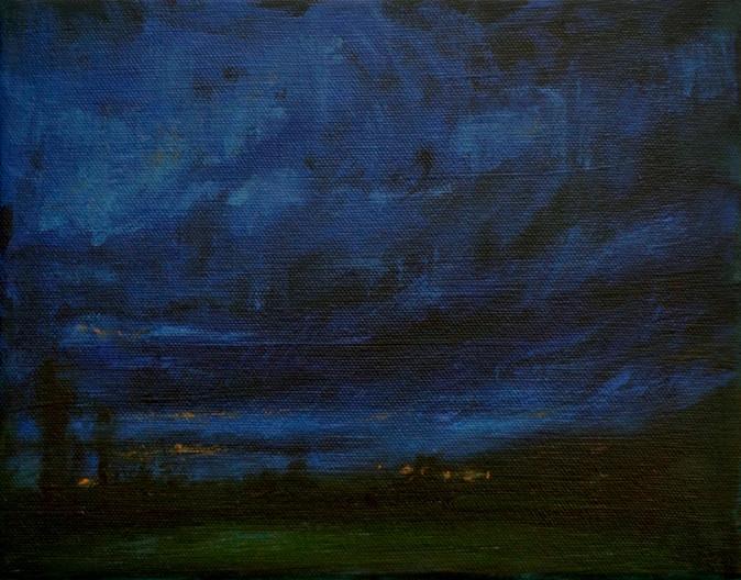 Ballyvaughan at Night