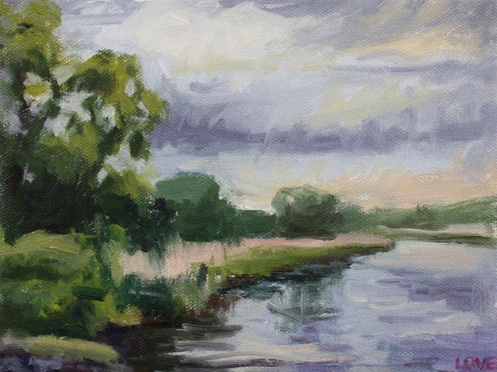 Corrib River Bank