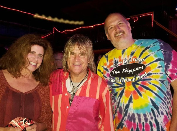 with Mike Peters of the Alarm