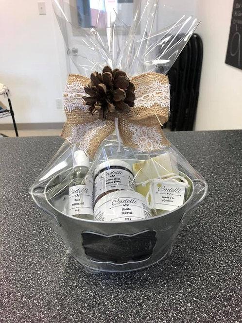 Panier-cadeau (option d'emballage pour vos produits)